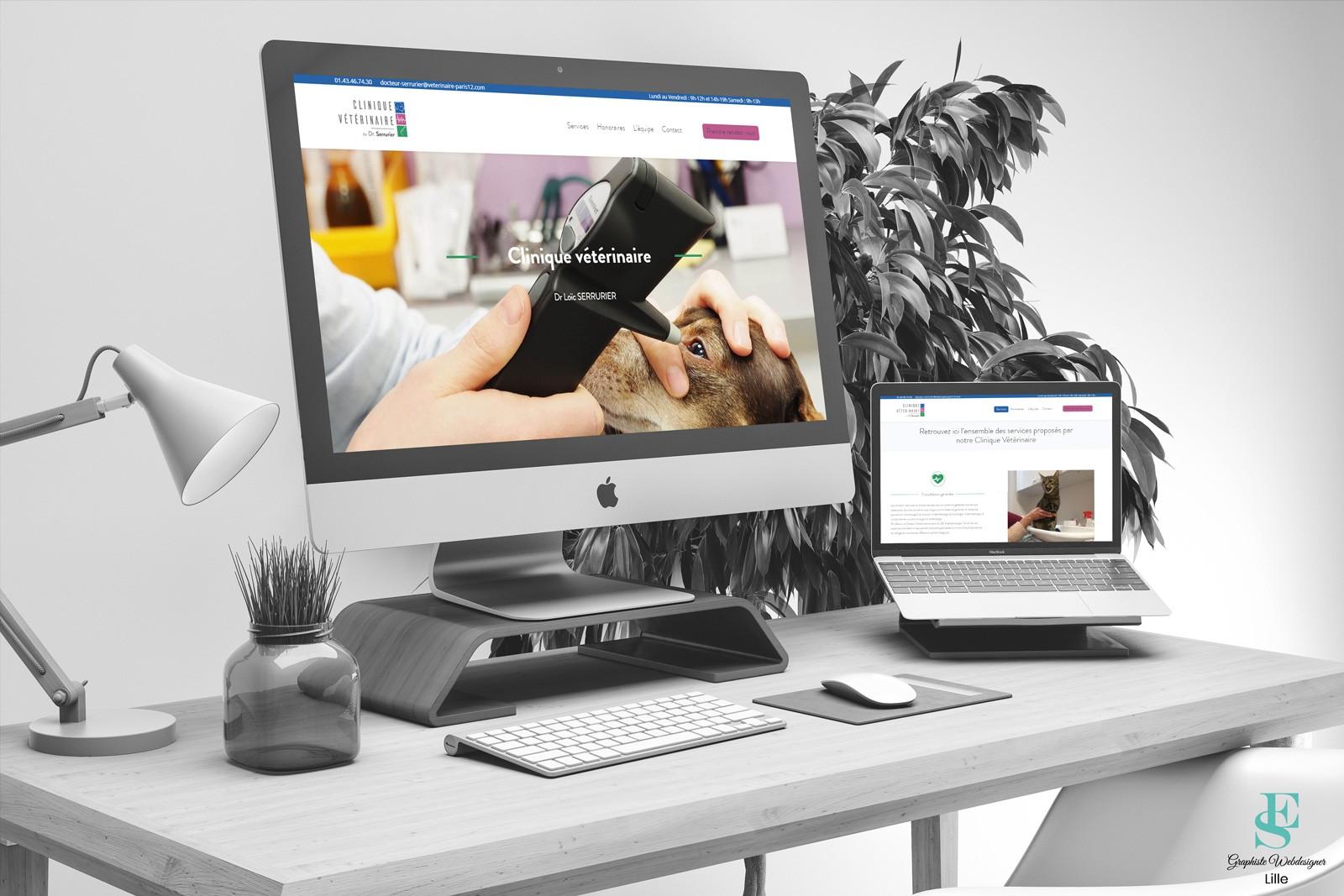 Site web Clinique vétérinaire Picpus