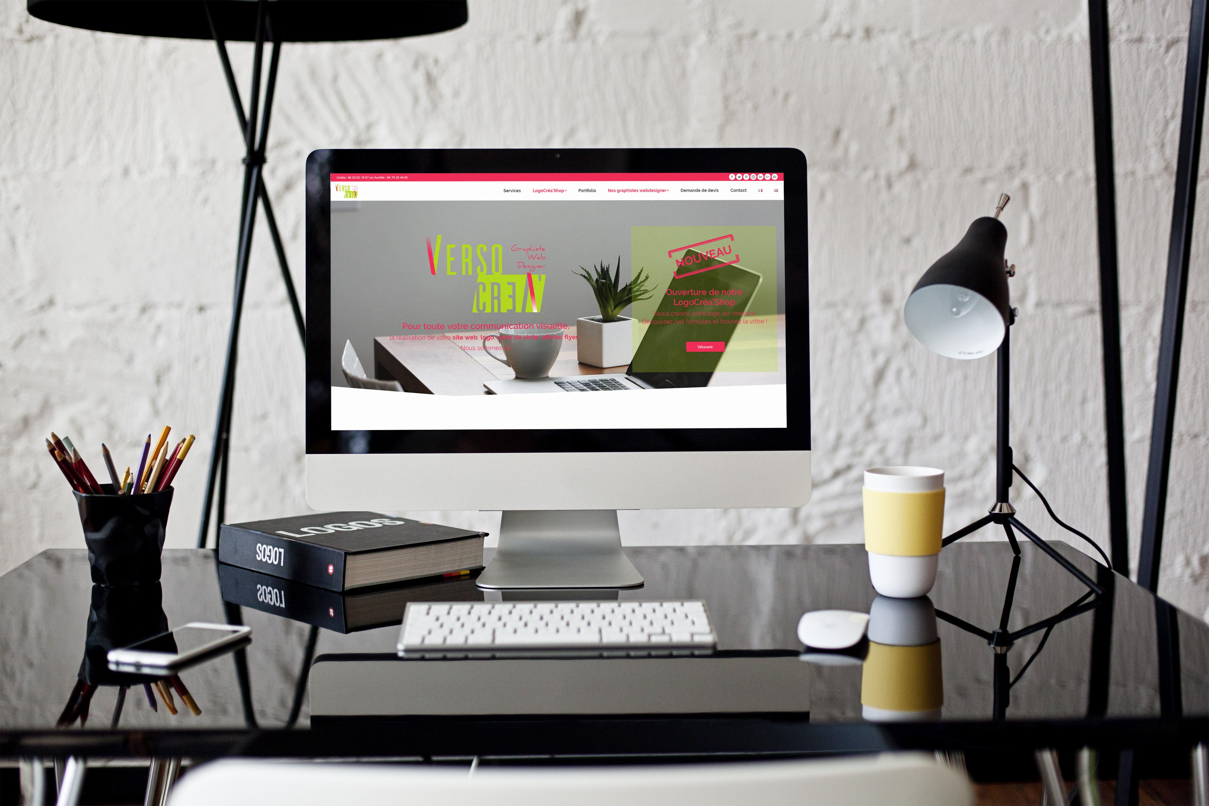 Création du site de VersoCréa'