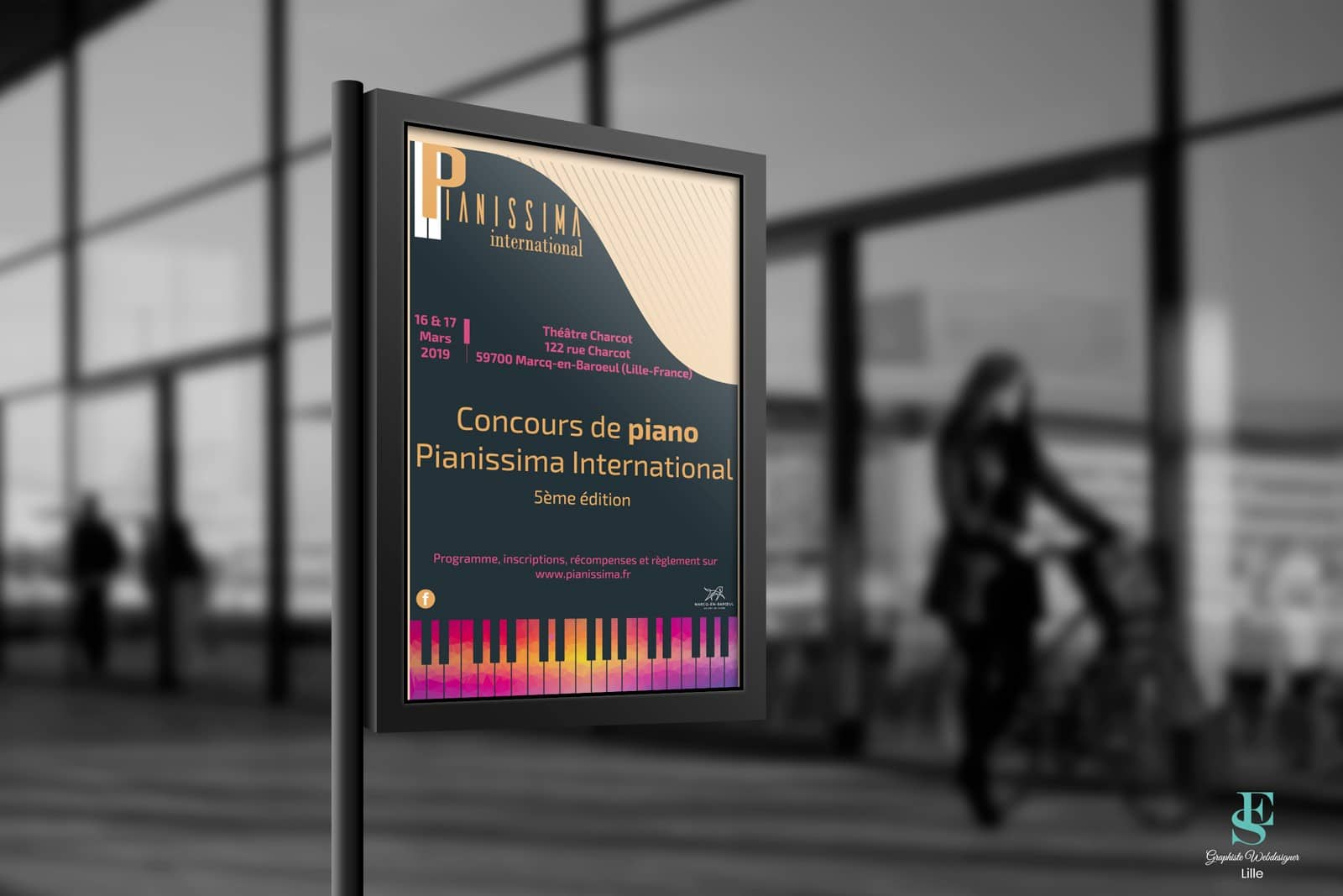 Affiche concours Pianissima International 2019