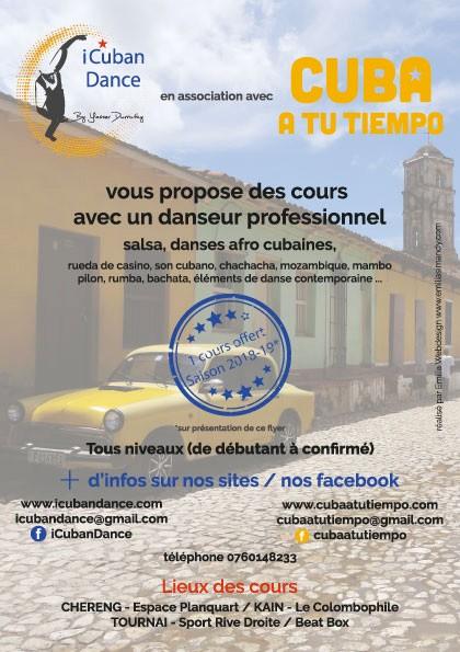 Flyer iCubanDance