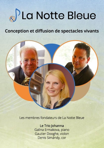 Flyer La Notte Bleue