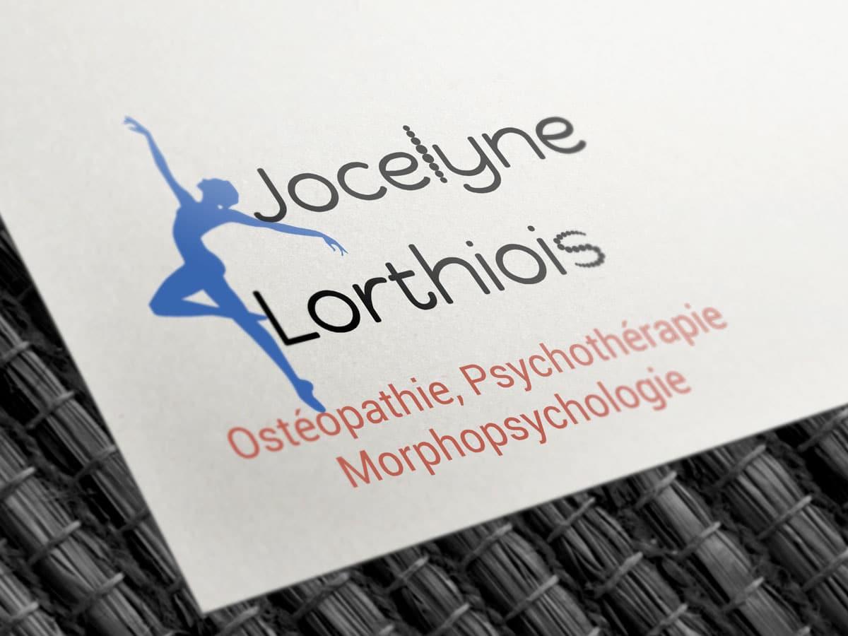 Logo de Jocelyne Lorthiois, ostéopathe …