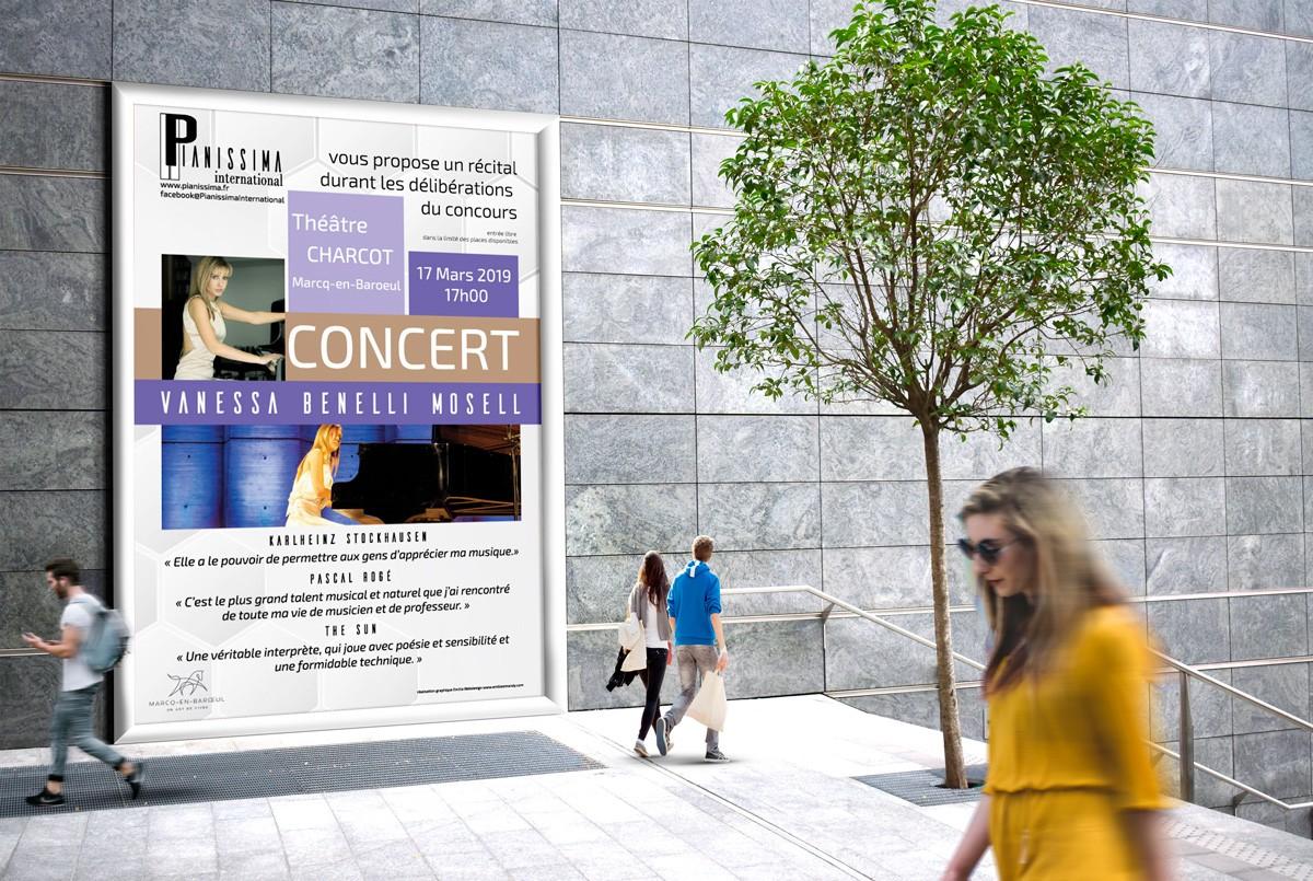Affiche du concert de Pianissima International 2019