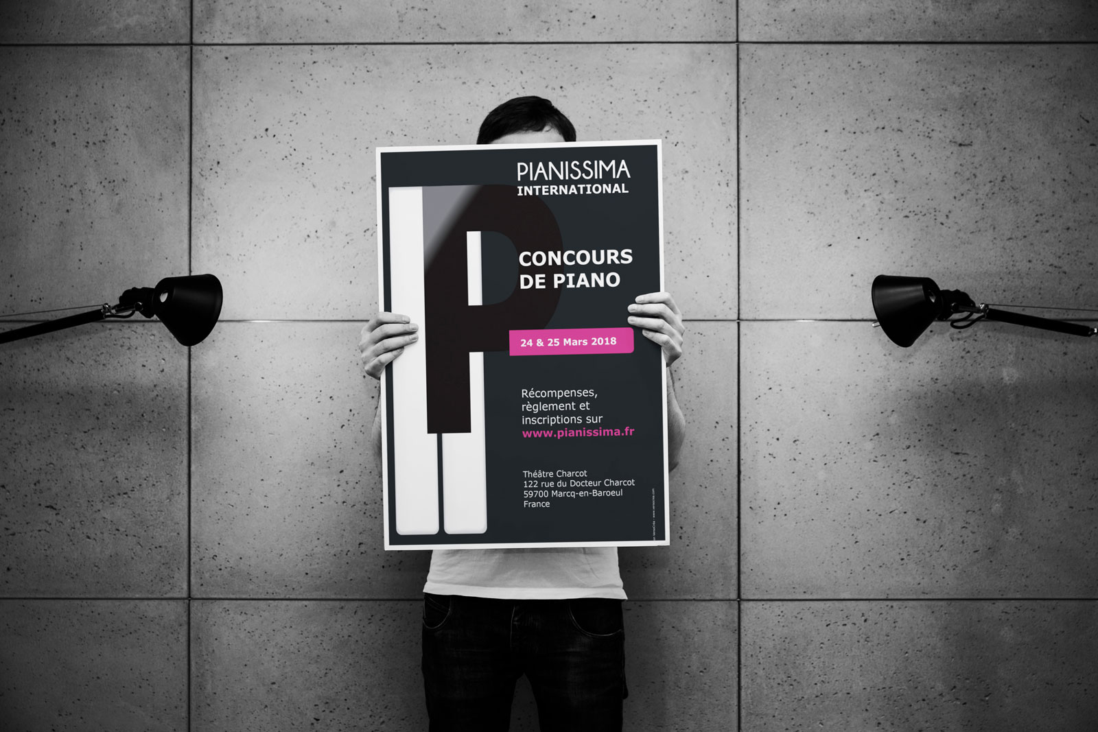Affiche du concours Pianissima International 2018