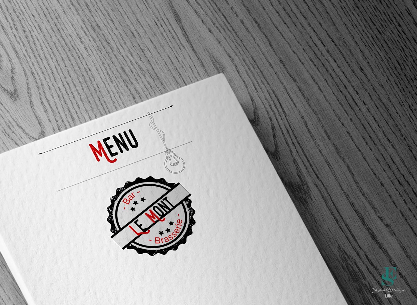 Menu Bar Brasserie Le Mont