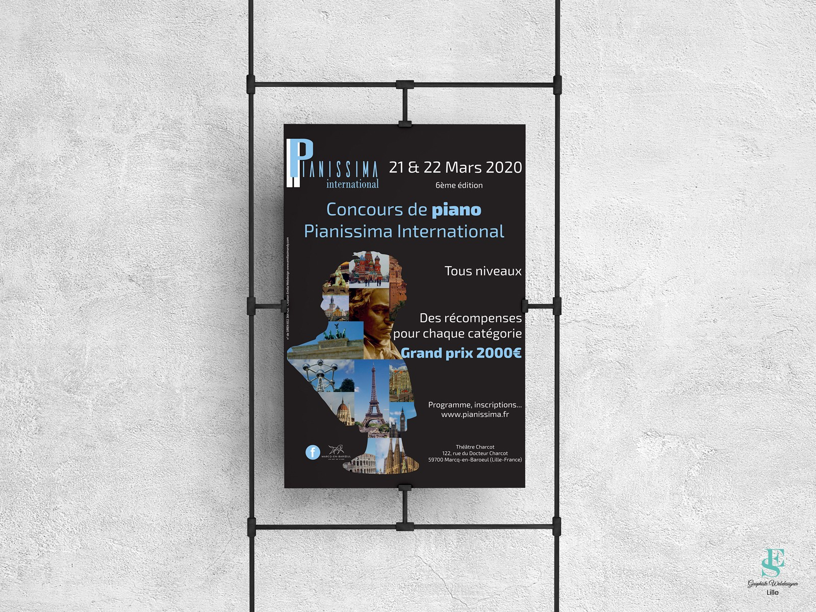 Affiche 2020 concours Pianissima International