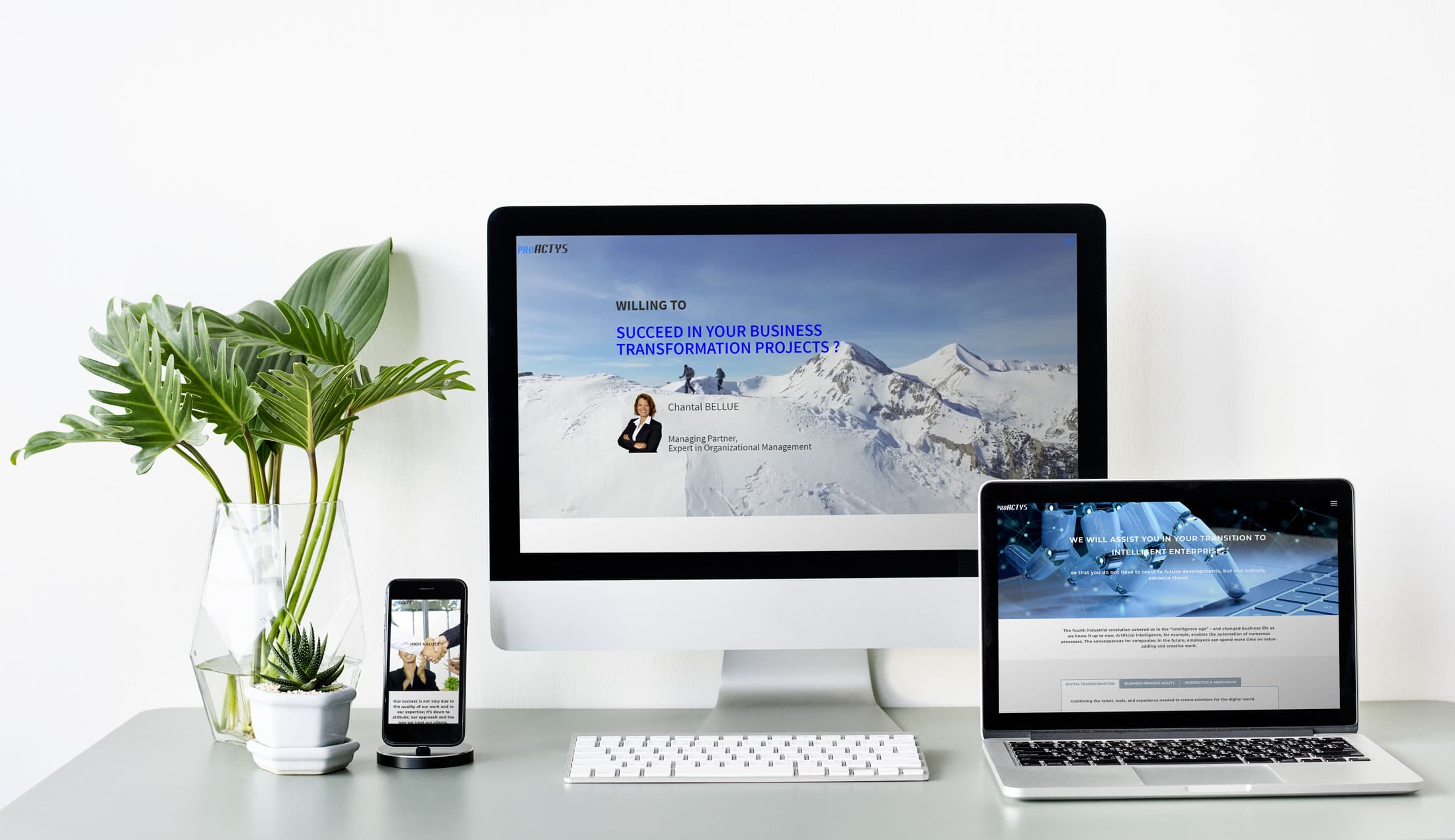 Site web de ProActys