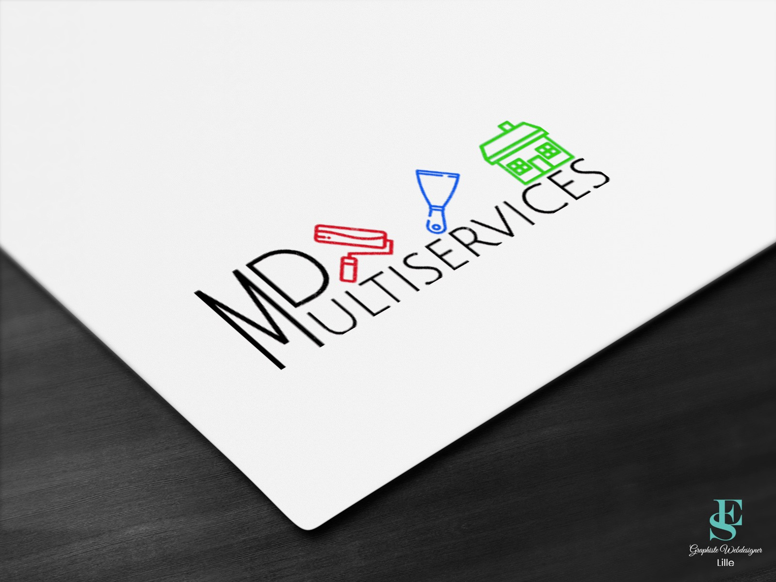 Logo MD Multiservices